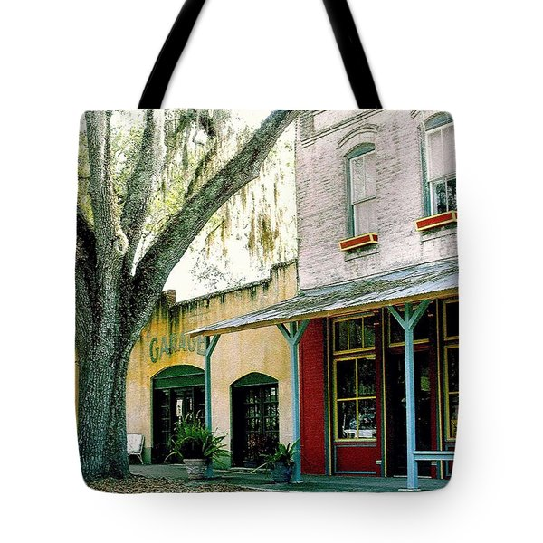Micanopy Storefronts Tote Bag