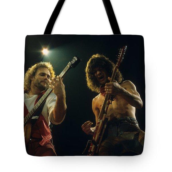 Michael And Eddie Tote Bag