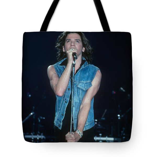 Michael Hutchence Of Inxs Tote Bag