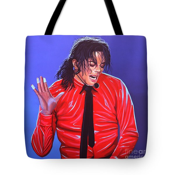 Michael Jackson 2 Tote Bag by Paul Meijering