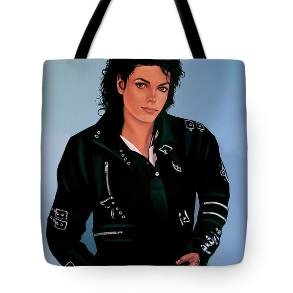 Michael Jackson Bad Tote Bag