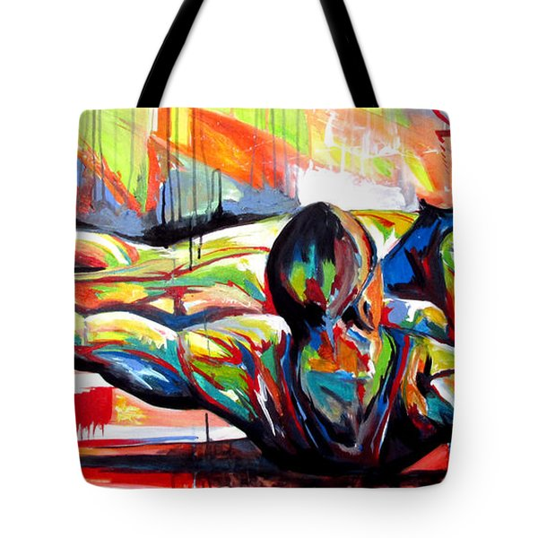 Michael Johnson Stretch Tote Bag