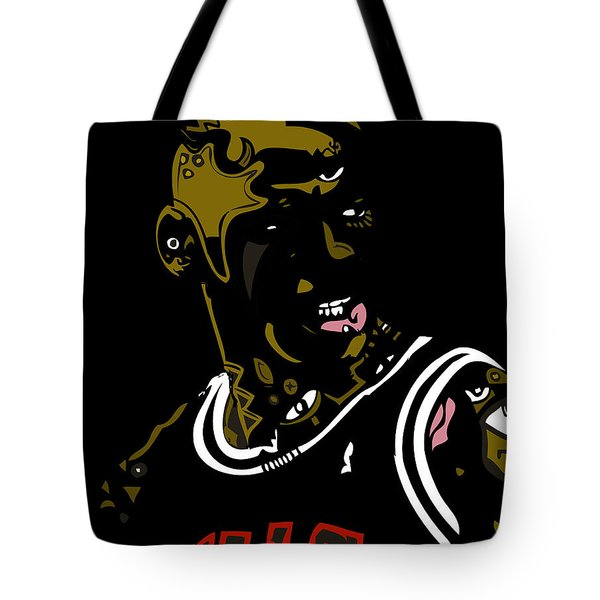 Michael Jordan Tote Bag by Kamoni Khem