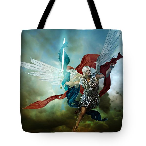 Michael Tote Bag by Mary Hood