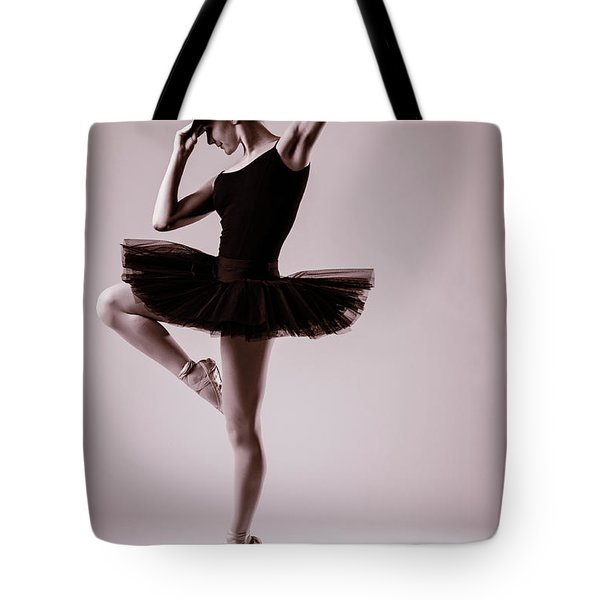 Michael On Pointe 2 Tote Bag