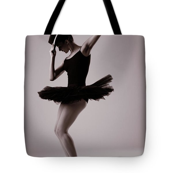Michael On Pointe Tote Bag