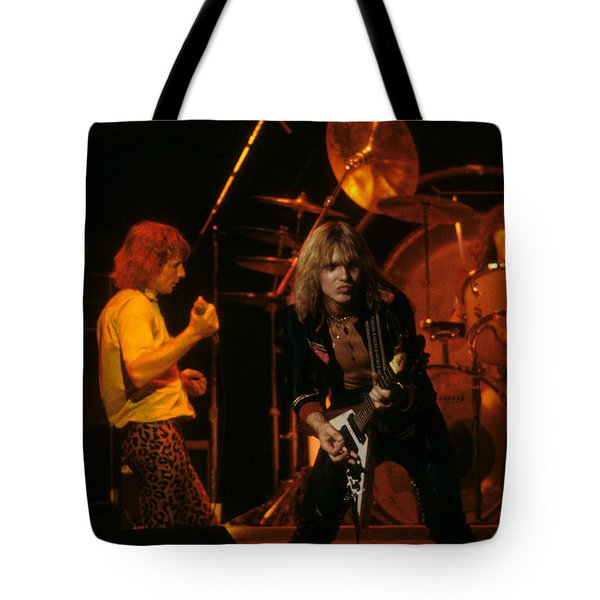 Michael Schenker Of Ufo Tote Bag