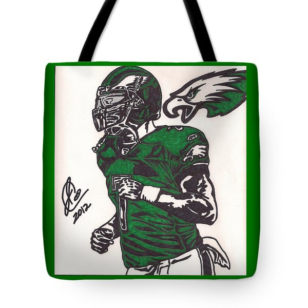 Micheal Vick Tote Bag by Jeremiah Colley