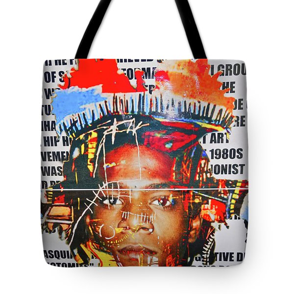 Michel Basquiat Tote Bag
