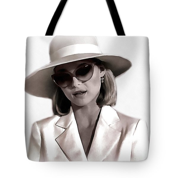 Michelle Pfeiffer Tote Bag