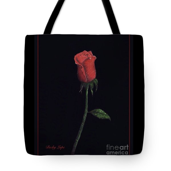 The Perfect Rose 2 Tote Bag