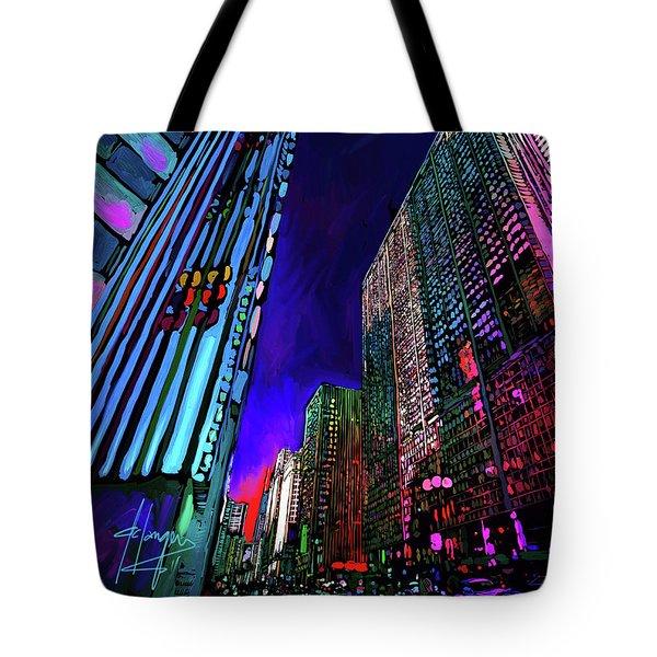 Michigan Avenue, Chicago Tote Bag