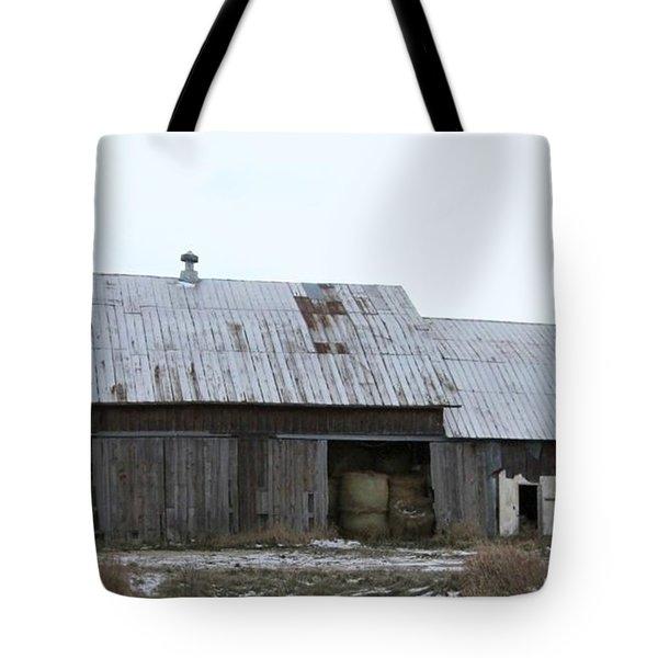 Michigan Barn Tote Bag