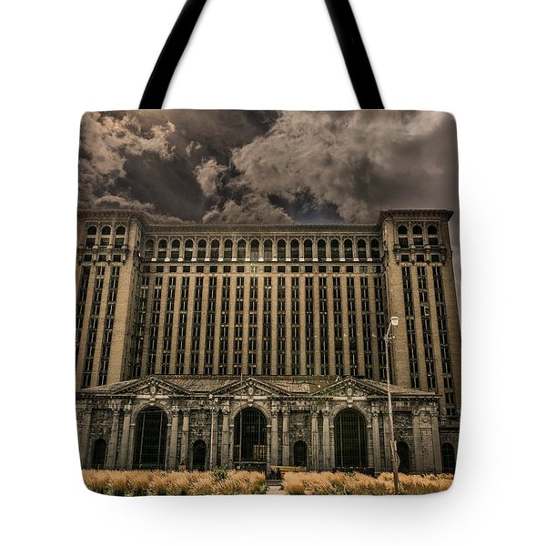 Michigan Central Station Tote Bag