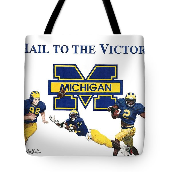 Michigan Heismans Tote Bag