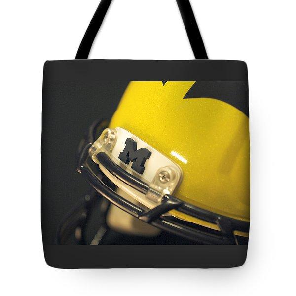Wolverine Helmet Tote Bags