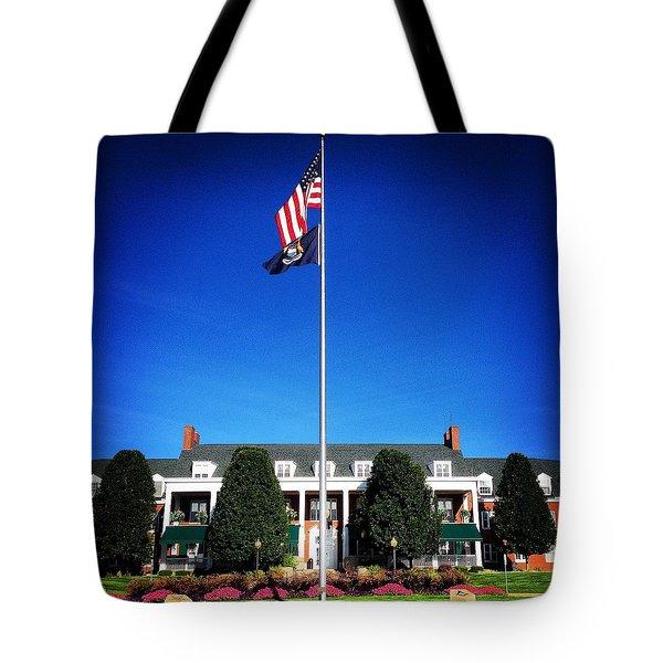 Michigan Masonic Home Tote Bag
