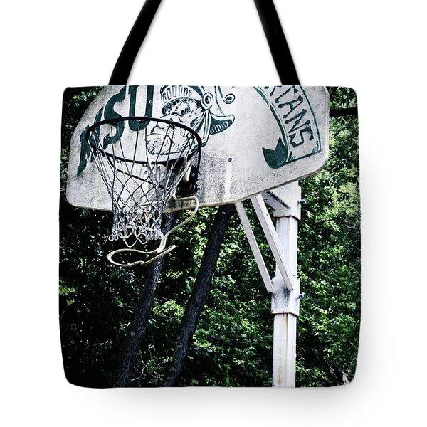 Michigan State Practice Hoop Tote Bag