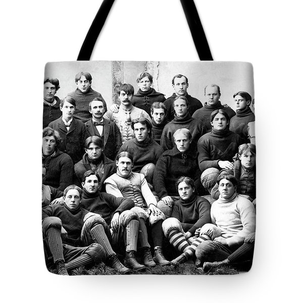 Michigan Wolverines Football Heritage  1895 Tote Bag by Daniel Hagerman