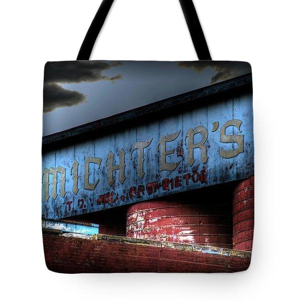 Michter's Brew Tote Bag by Scott Wyatt