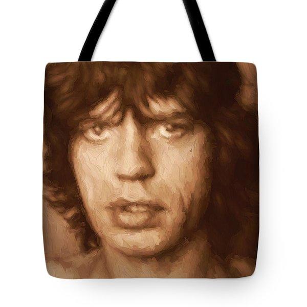 Mick Tote Bag by Dan Sproul