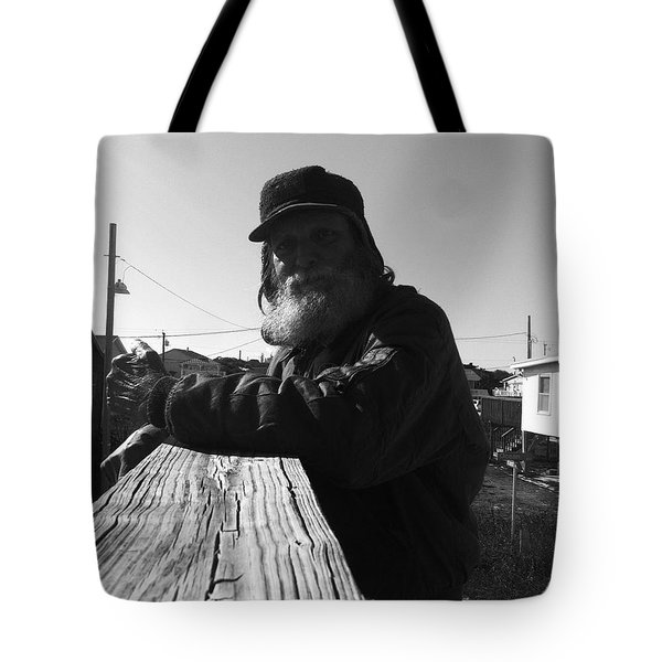 Mick Lives Across The Street Not In The Streets Tote Bag by WaLdEmAr BoRrErO