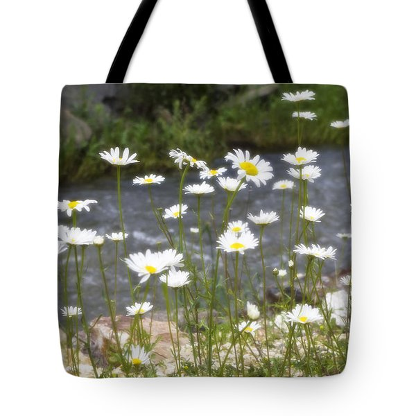 Mickelson Trail Daisies Tote Bag