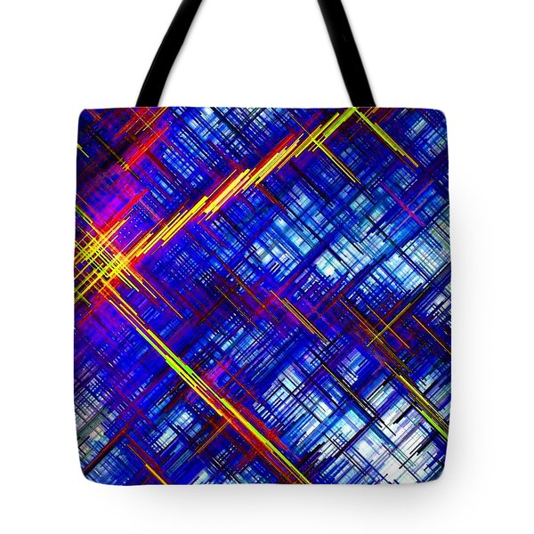 Micro Linear 6 Tote Bag by Will Borden