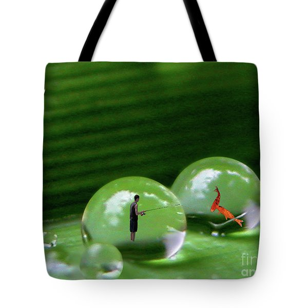 Microcosms Tote Bag