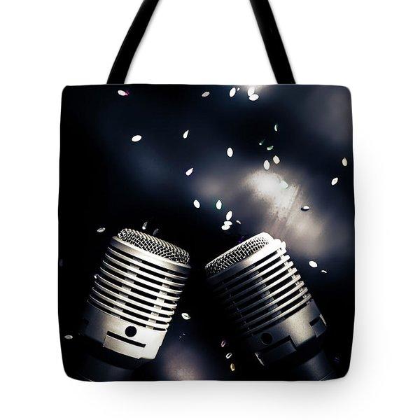 Microphone Club Tote Bag