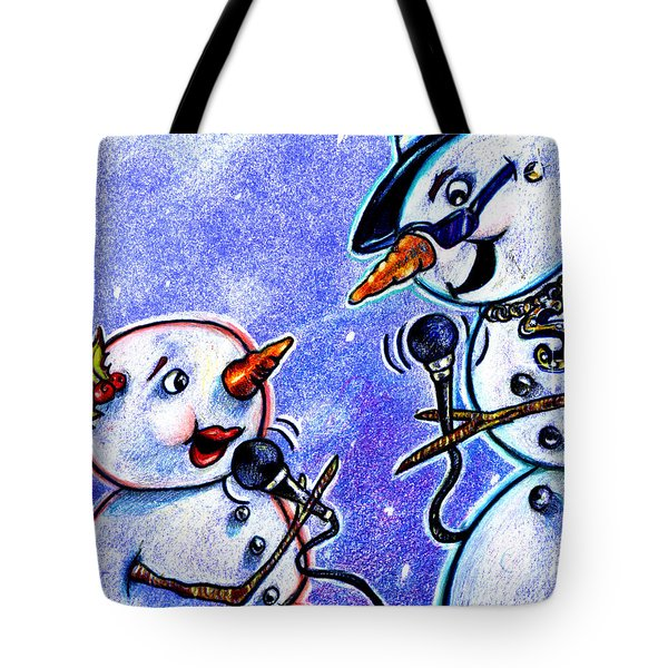 Microphones For Singing Tote Bag