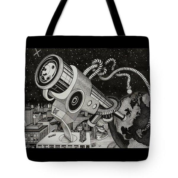 Microscope Or Telescope Tote Bag