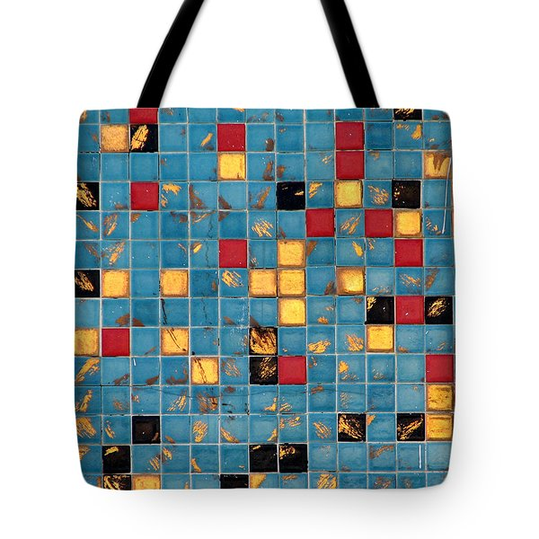 Mid Century Tiles Tote Bag by Christopher Woods
