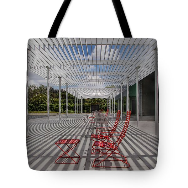 Mid-day Lines Tote Bag