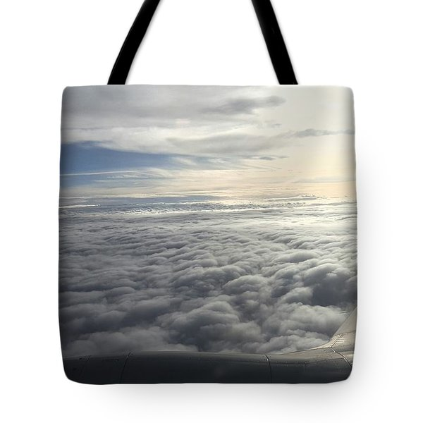 Mid Heaven Flight Tote Bag