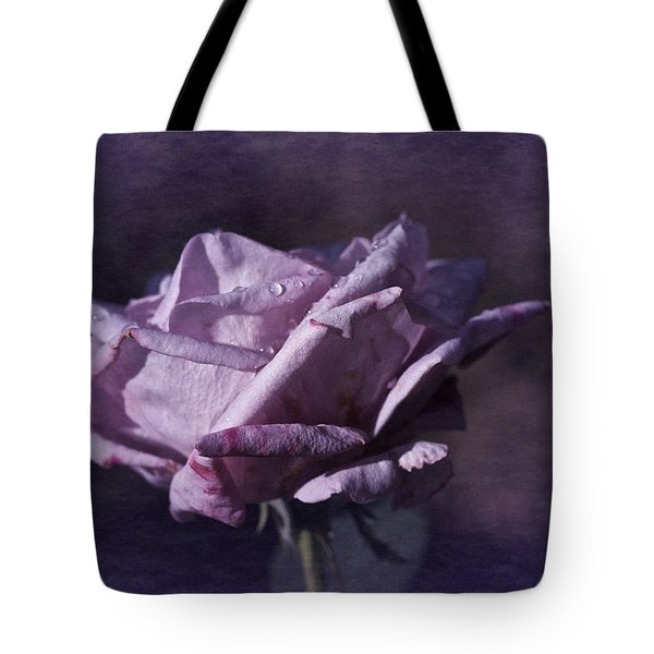Tote Bag featuring the photograph Mid September Purple Rose by Richard Cummings
