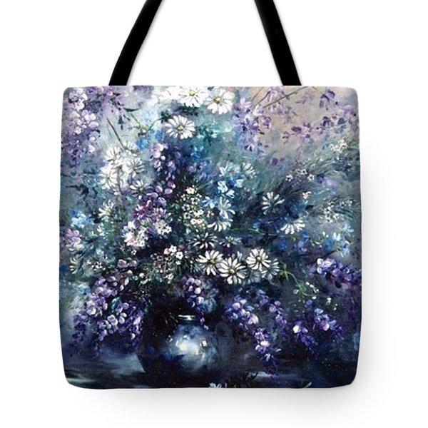 Mid Spring Blooms Tote Bag