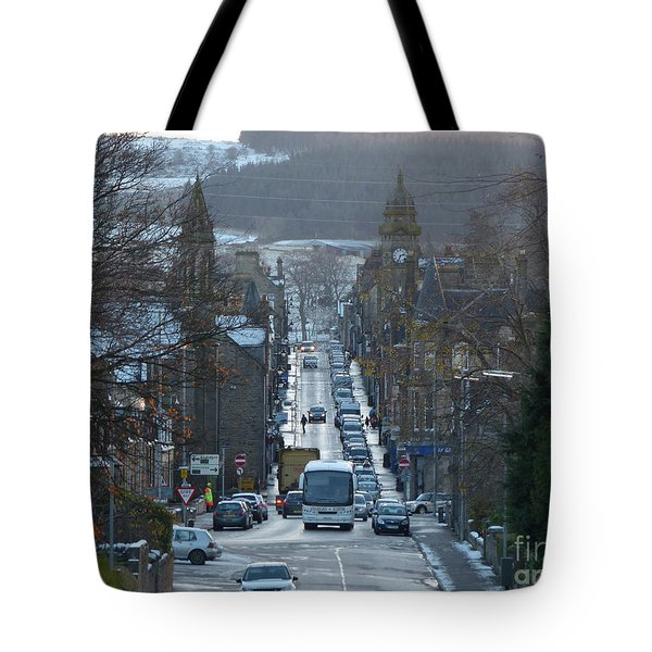 Mid Street - Keith - Banffshire Tote Bag