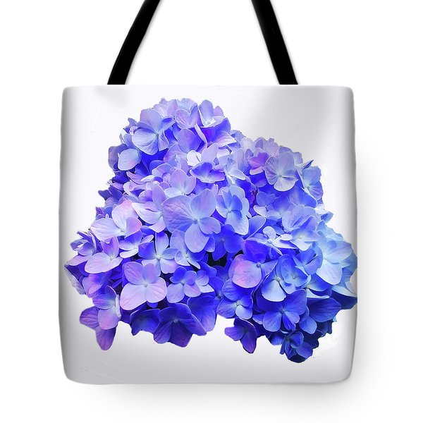 Tote Bag featuring the photograph Mid-summer Blue by Roger Bester
