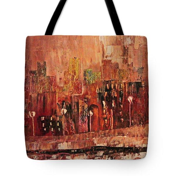 Mid Town Tote Bag by John Stuart Webbstock