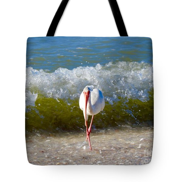Mid Wave Feeding Tote Bag