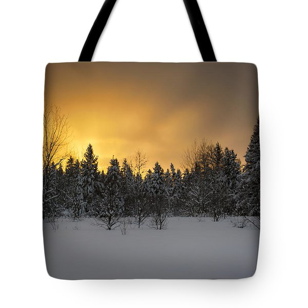 Mid-winter Glow Tote Bag