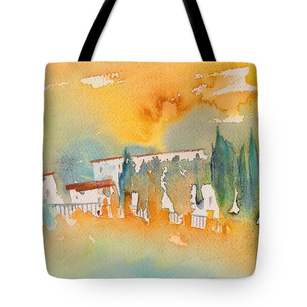 Midday 07 Tote Bag by Miki De Goodaboom