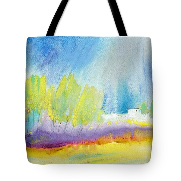 Midday 08 Tote Bag by Miki De Goodaboom