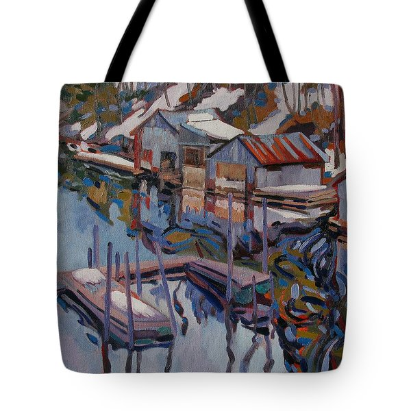 Midday Outlet Tote Bag by Phil Chadwick