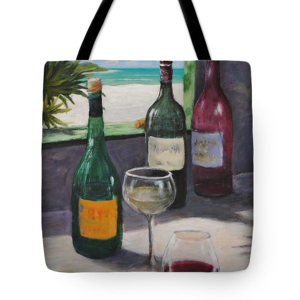 Midday Wine Tote Bag