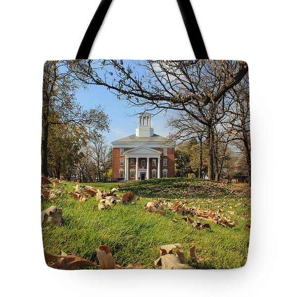 Middle College On An Autumn Day Tote Bag