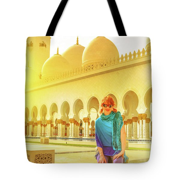 Middle East Tourism Concept Tote Bag