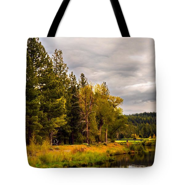 Middle Fork Tote Bag