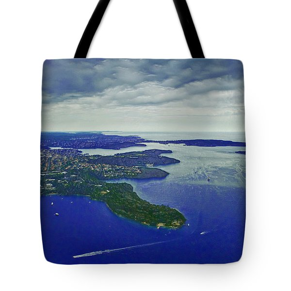 Middle Head And Sydney Harbour Tote Bag by Miroslava Jurcik